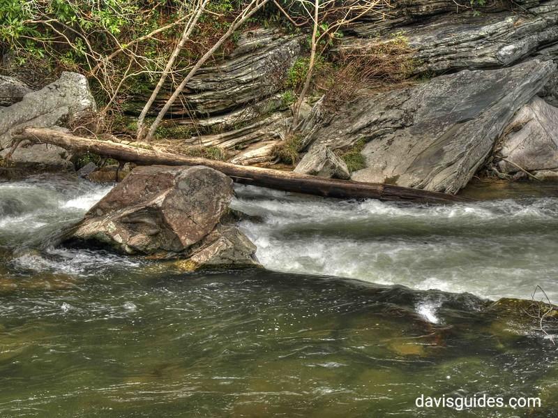 Linville Falls cascades
