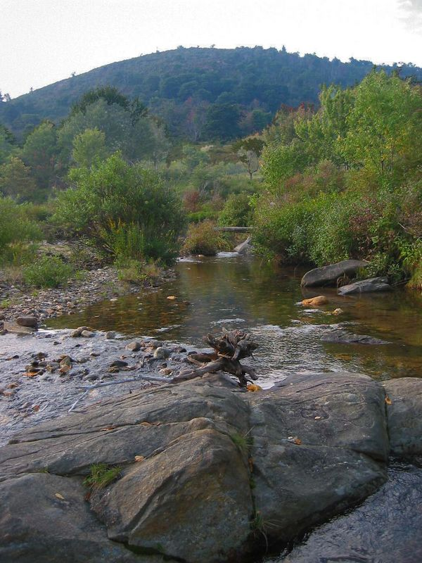 Water and mountain, Graveyard Fields