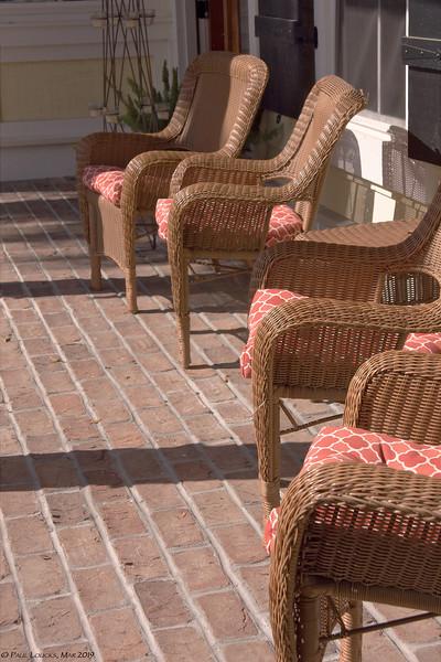 Enjoy the veranda