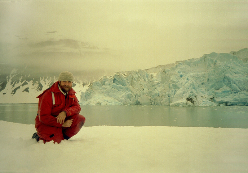 Reid Glacier,  Reid Inlet, Glacier Bay, Alaska. May 4, 1993