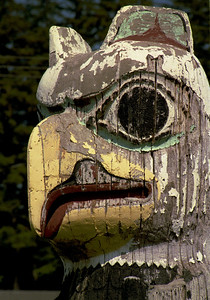 Totem at Hydeburg, Prince of Wales Island