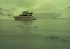 Lady Lee anchored in Reid Inlet, Glacier Bay, Alaska. May 4, 1993
