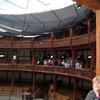 New Globe Theatre in London, England on the Thames River