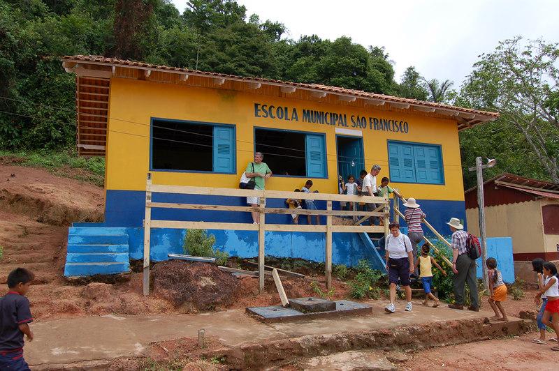 School in Boca da Valeria