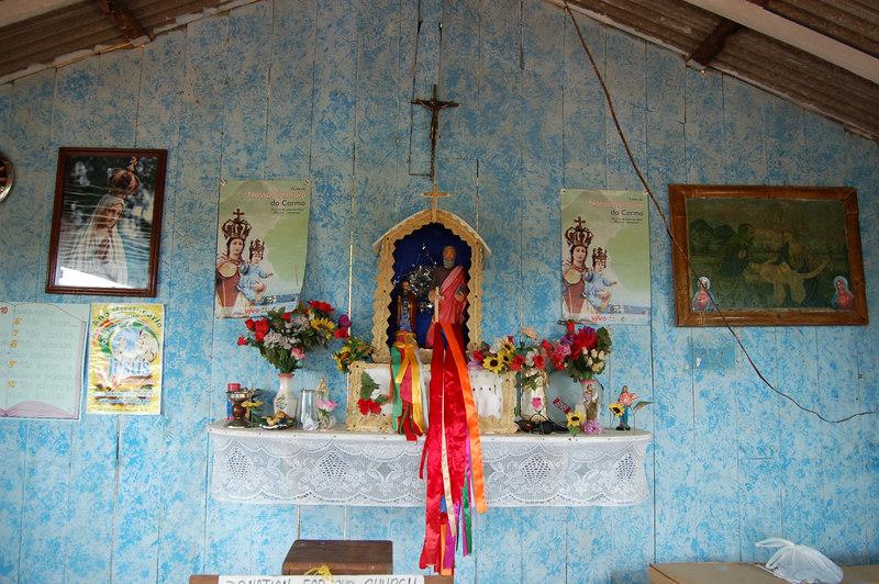 Close Up of Altar