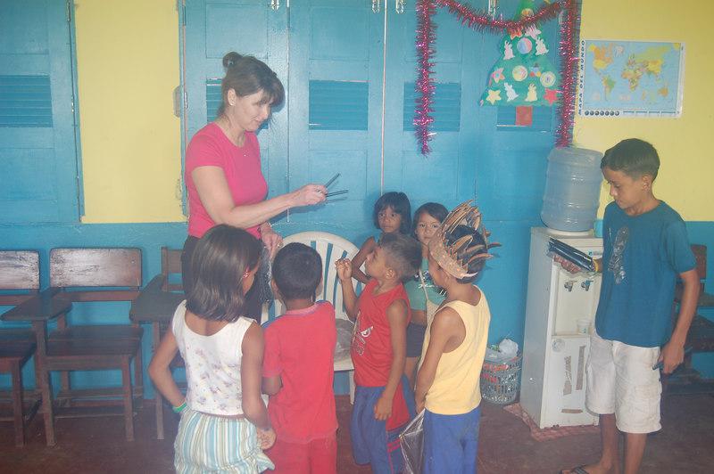 One Room School in Boca da Valeria, Brazil