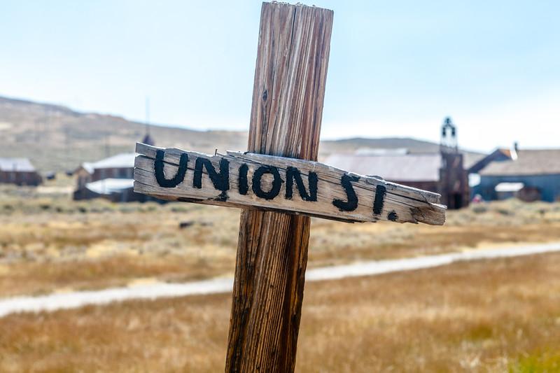 Union Street sign