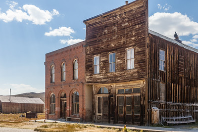 Two old dwellings with Bodie