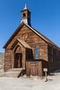 Methodist Church, built in 1882 and the only church still standing in Bodie. The last service was held in 1932