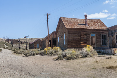 One of the old homes with in Bodie