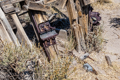 Many old relics are strewn throughout the town.  It's interesting to stop and try to figure out what they could have been used for