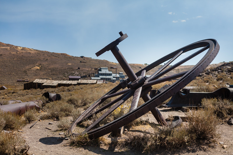 One of the many interesting remnants scattered throughout the great town of Bodie