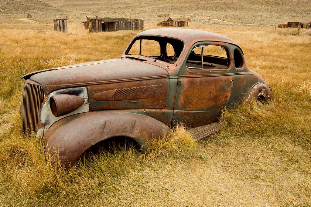 Old Car in Bodie #1-T