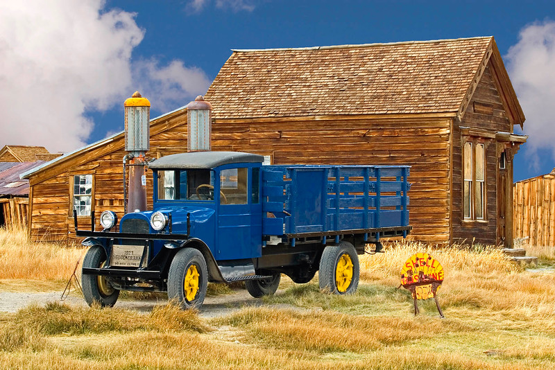 Bodie Shell Station 46Sky-T