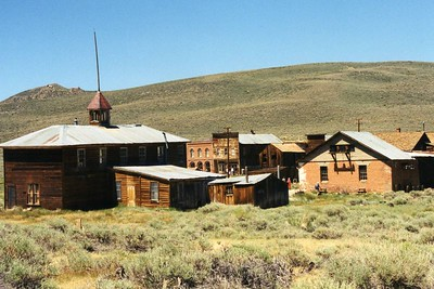 Bodie Ghost Town, Eastern Sierras, Mono County, CA