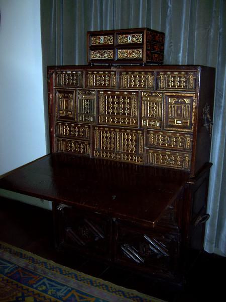 Bolivar's Mistress' desk