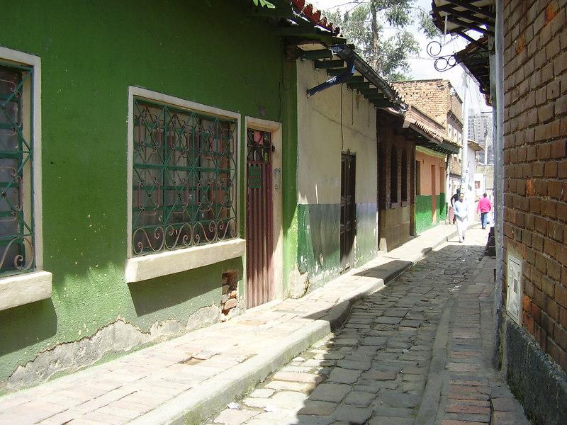 Bogota back alley