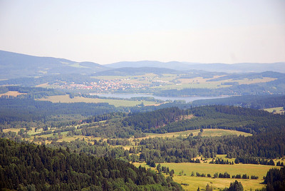 Lake Lipno (Moldaustausee)