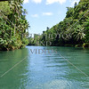 A view along Loboc River in Bohol island, Philippines.