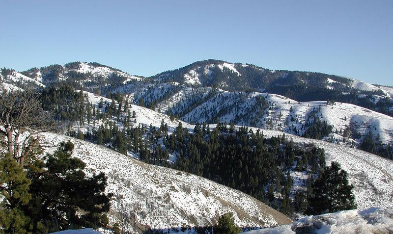 Taken on Bogus Basin Rd. near Boise, ID on Feburary 9, 2006.