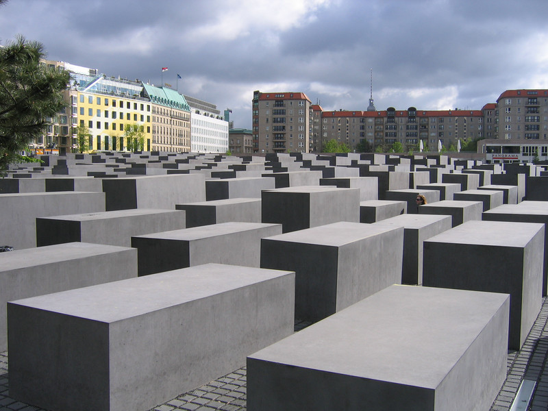 Yet another view of the Holocaust Memorial.
