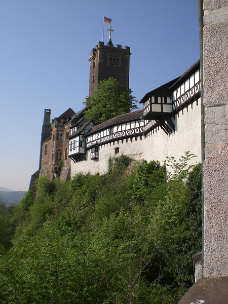 Castle Wartburg. We climbed all the way up there!