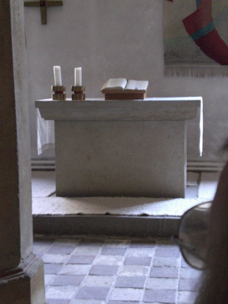 Altar in the winter chapel in the Augustinerkloster.