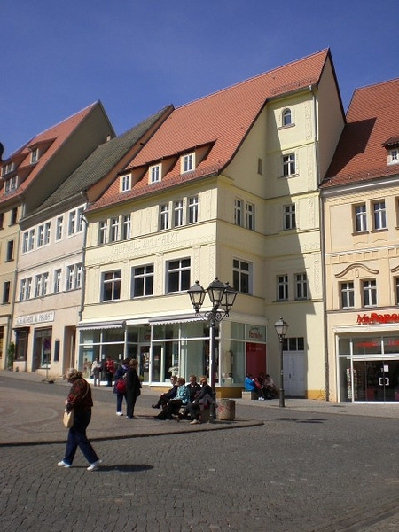 The square in Eisleben.