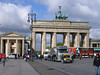 A long shot of the gate. Imagine that it was integrated into the Berlin Wall for nearly 30 years.