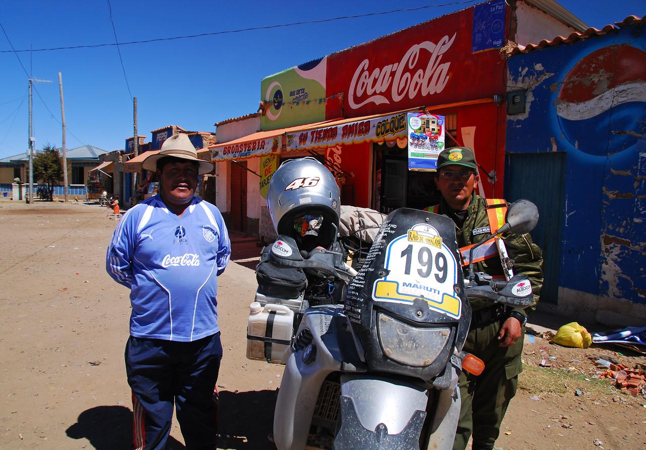 Outside La Paz
