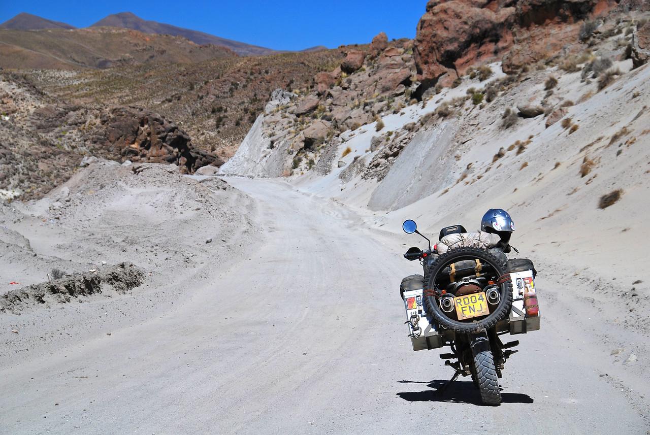 Potosi - Uyuni road