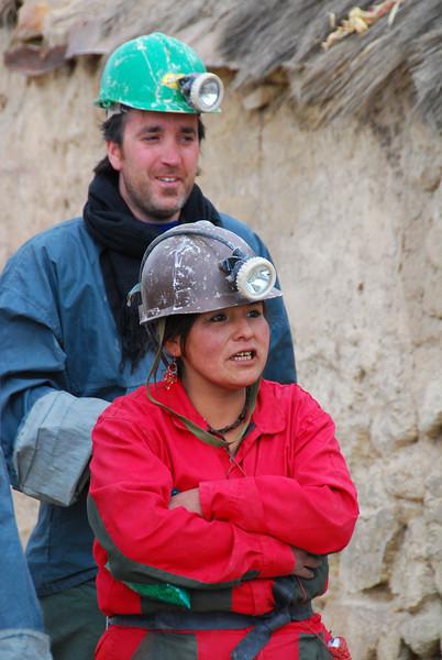 Tour guide - Potosi mine