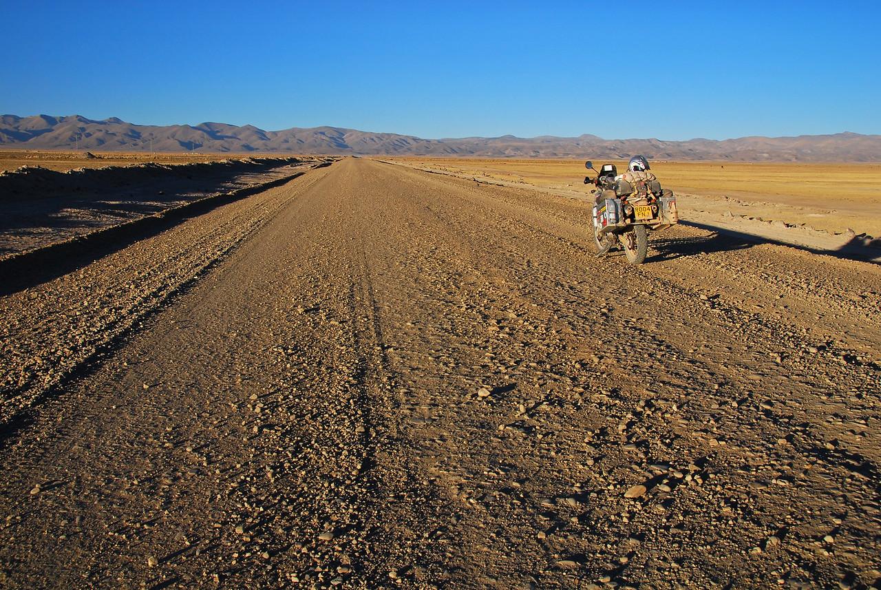 Salinas de Garci-Mendoza - Huari road