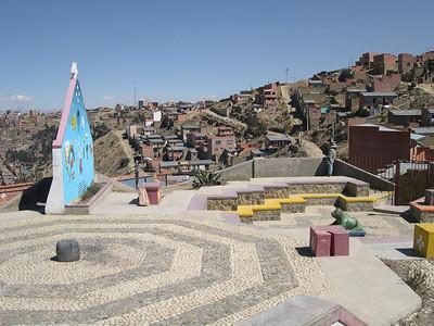 Above La Paz.