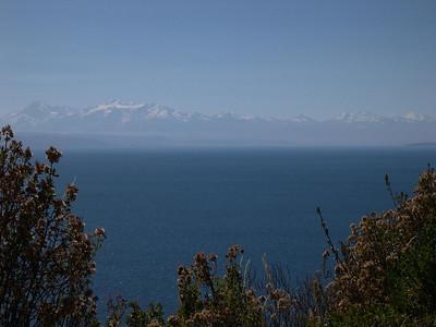 Leaving Lake Titicaca.
