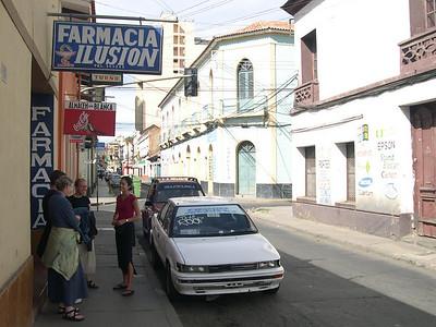 Sunday in Cochabamba.