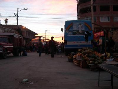 Bus to Morochata.