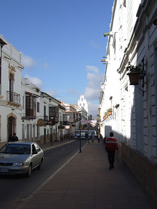 This street is not only quite white. It is one of the tourist's streets: You find good restaurants, travel agencies and many more,...