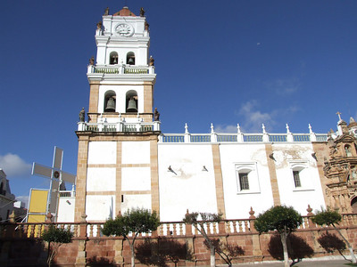 Moreover, the Cathedral of Sucre is also next to the Plaza.