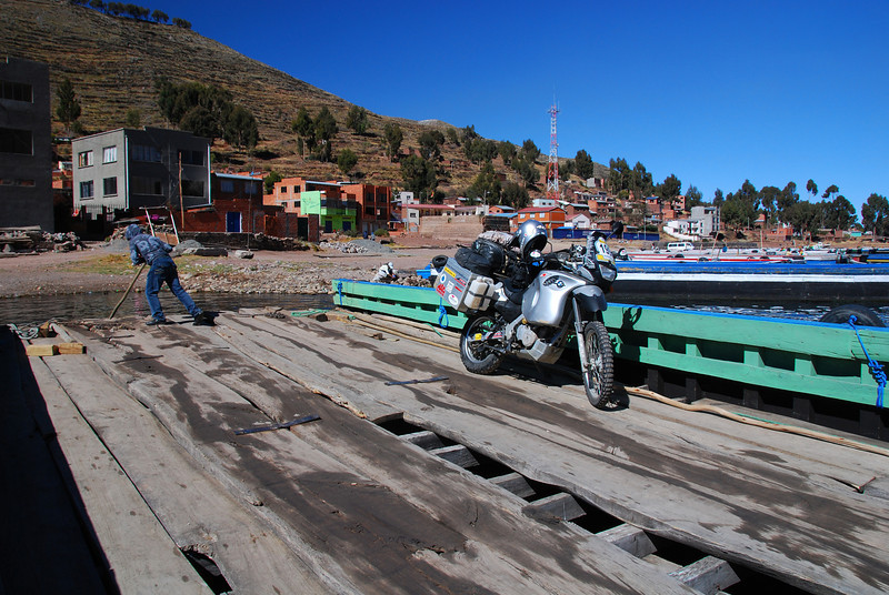 Ferry to Isla del Sol