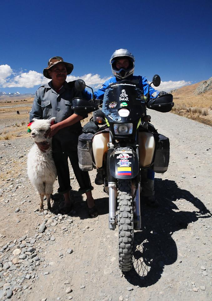 La Paz - Sorata alternative road near Peñas