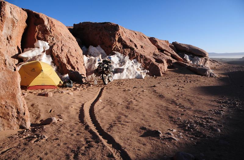 Bush Camp (GPS_BOL042) nr Laguna Colorada