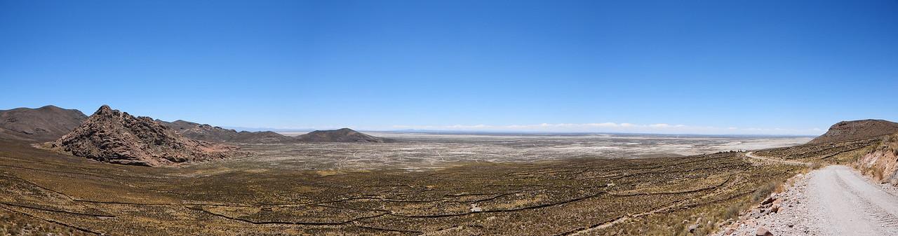 Huachachalla - Macaya Road