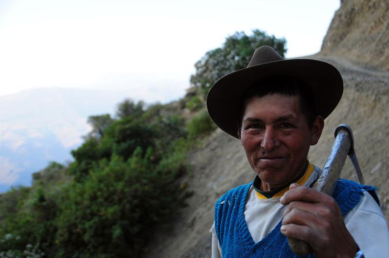 Coroico - Cochabamba Road