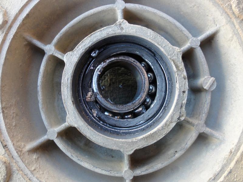 Collapsed cush-drive bearing.  Uyuni