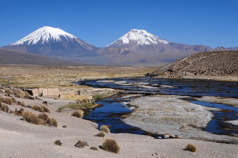Just south of Parque Nacional Sajama on the road to  Macaya
