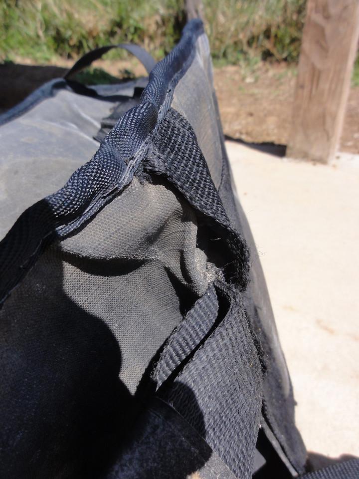 Andy Strapz wear & tear.  Samaipata
