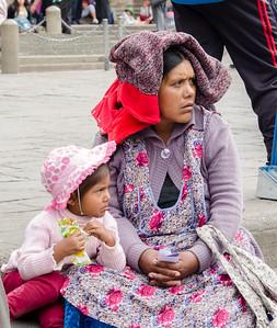 LAS MUJERES DE BOLIVIA
