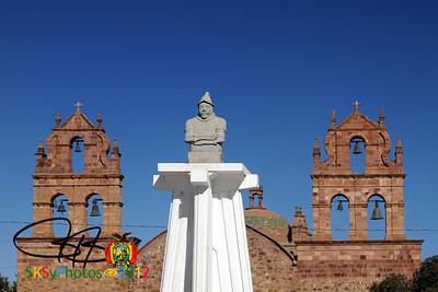 Laja - original site of La Paz.