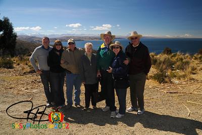 "Everyone say ""Titicaca!"""